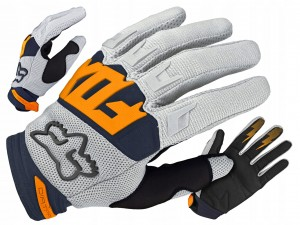 RĘKAWICZKI FOX DIRTPAW LIGHT GREY ENDURO ROZ. M
