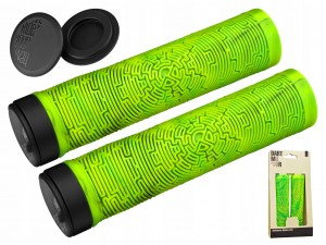 GRIPY DARTMOOR MAZE FOREST GREEN SKRĘCANE 137 MM