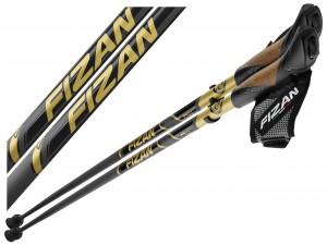 KIJE NORDIC WALKING FIZAN RUNNER GOLD CARBON 115