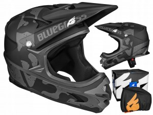 KASK BLUEGRASS INTOX FULL FACE BLACK 58-60 CM / L