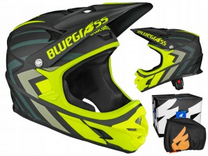 KASK BLUEGRASS INTOX FULL FACE YELLOW 58-60 CM / L