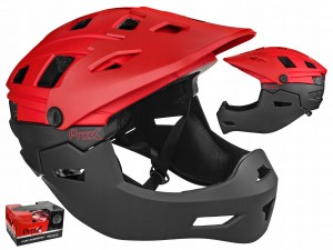KASK PROX CAGE RED FULL FACE MTB / BMX 58-61 CM